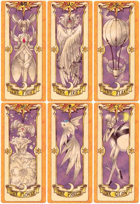 Pin Cardcaptor Clow Card pin cardcaptor clow cards wallpaper image search results on