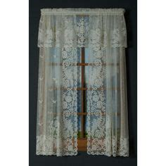 54 long sheer curtain panels rhapsody is a fun pattern of flowers leaves and birds a