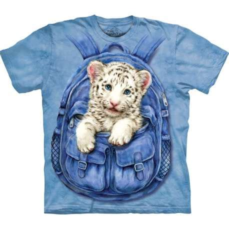 713252 The Mountain Sweater White Tiger Crew Neck backpack white tiger t shirt clothingmonster