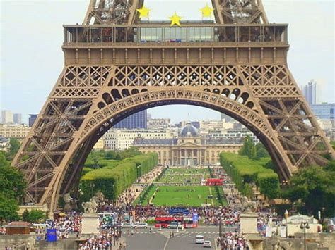 eiffel tower base places i ve visited