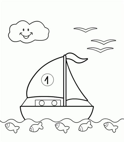 dibujos infantiles para colorear de barcos maestra de primaria medios de transporte acu 225 ticos para