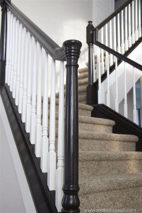 banister newel 25 best ideas about black banister on pinterest