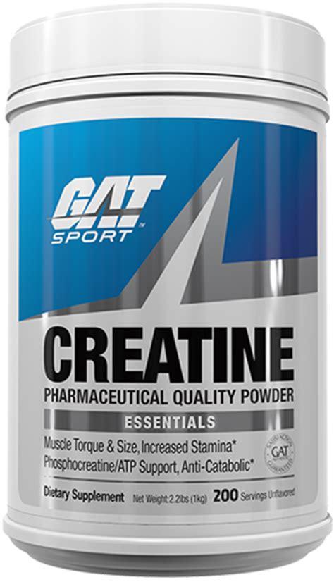 creatine brands creatine by gat at bodybuilding best prices on creatine
