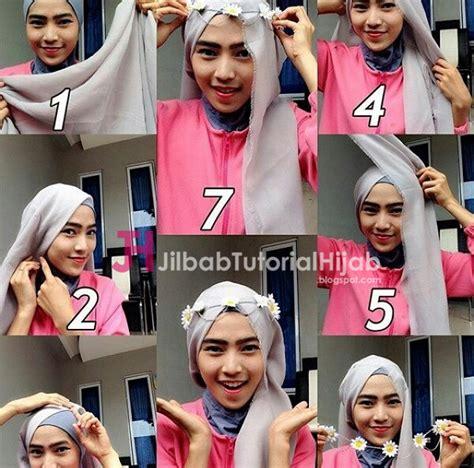 tutorial yang unik tutorial cara memakai hijab modern yang unik dan cantik