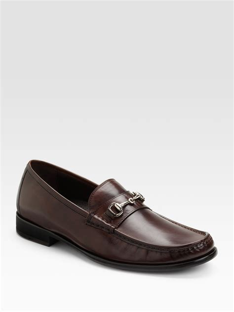 cole haan bit loafers cole haan air aiden bit loafers in brown for lyst