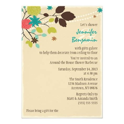Around The House Bridal Shower by Around The House Couples Wedding Shower Invitation Zazzle