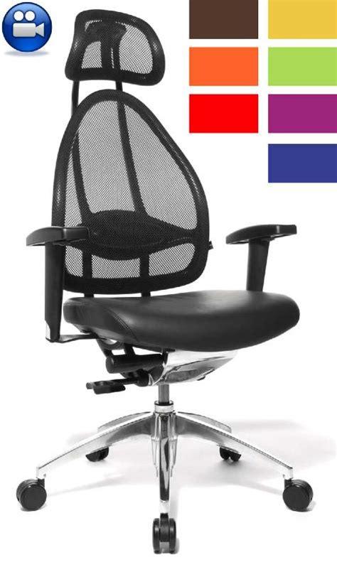 chaise de bureau mal de dos chaise de bureau ergonomique dos table de lit