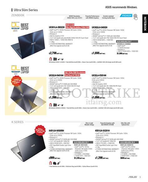 Asus K451ln Wx154h asus notebooks zenbook ultra slim series ux301la de022h
