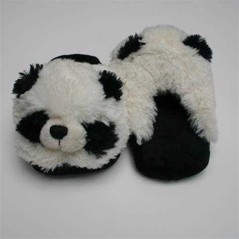 pillow pet slippers pillow pets panda slippers pandas international store