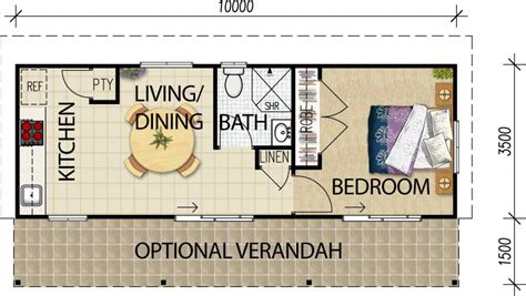 Floor Plans 3 Bedroom 2 Bath the lockwood all granny flats australia