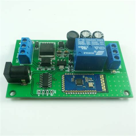 control lights with android phone dc 5v 12v 24v rf bluetooth relay module ble for android