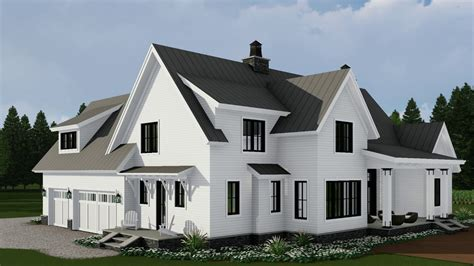 modern farmhouse house plans interior design home small