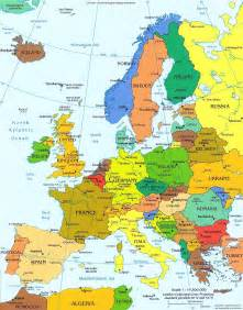 Detailed Map Of Europe by Political Map Of Europe With Capitals Images Amp Pictures