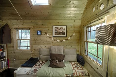 mobile home interior walls mobile tiny tack house is entirely built by hand and