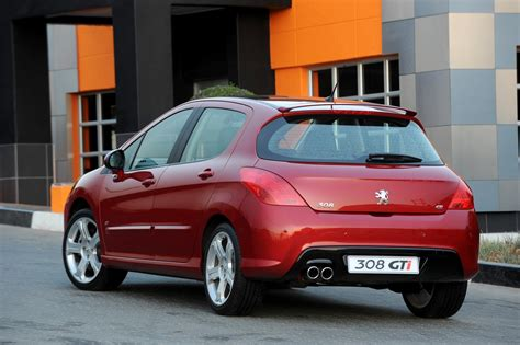 peugeot 308 gti 2009 in4ride peugeot 308 gti announced