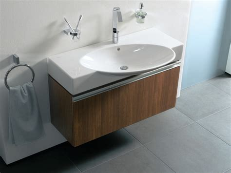 contemporary bathroom sink units vitra espace wall hung basin units contemporary