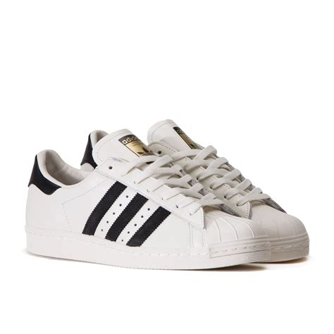 Adidas Superstars adidas superstar 80 s dlx vintage white black