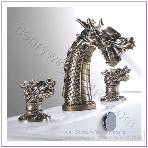 Country Style Kitchen Faucets by Aliexpress Com Buy Retail Luxury Brass Dragon Faucet