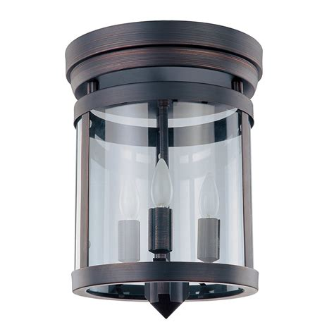 Lowes Ceiling Fixtures by Dvi Dvp4432 3 Light Niagara Flush Mount Ceiling Light