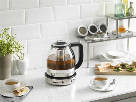 Think Kitchen Glass Kettle New Kitchenaid Glass Tea Kettle Is A Tea Lover S