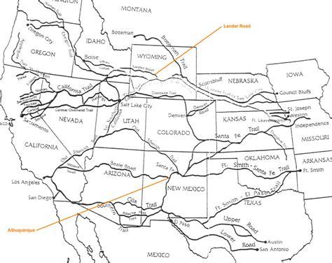 bozeman trail map the blonger posse sam s journey west