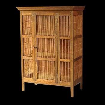 armoire en bambou grande armoire teck bambou armoires armoires et