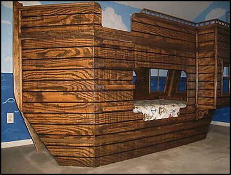 ship bed pirate ship bed plans bed plans diy blueprints
