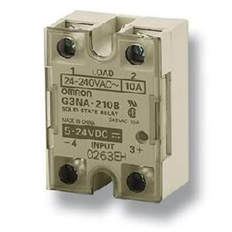 Realy Omron G3na D210b Dc5 24 By Omz g3na d210b utu dc5 24 166383 omron solid state relay surface mounting 1 pole 10 a 220