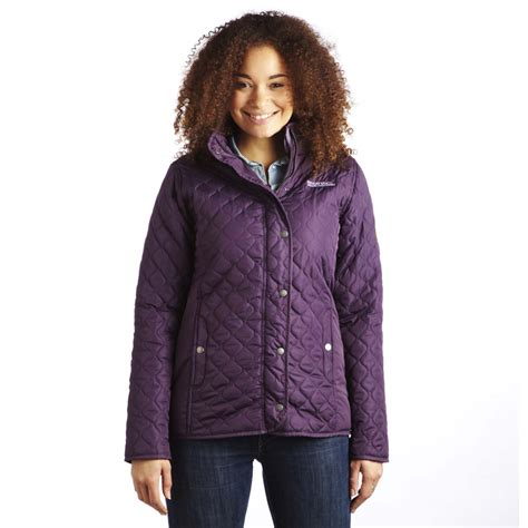 country style jacket regatta buntie womens quilted padded insulated country