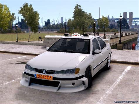 peugeot taxi peugeot 406 taxi 2 для gta 4