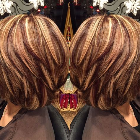 best lowlights for brunettes spring highlights and lowlights josephashleysalon http