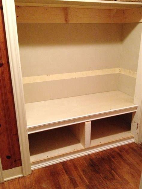 tutorial   build  bench   closet closet