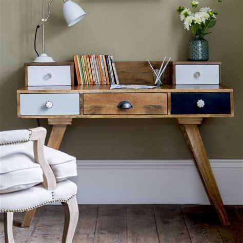 bedroom desk with drawers milligan retro multi draw desk