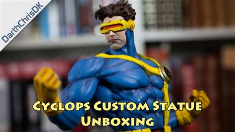 Costum Cyclops 2 cyclops custom statue unboxing commission