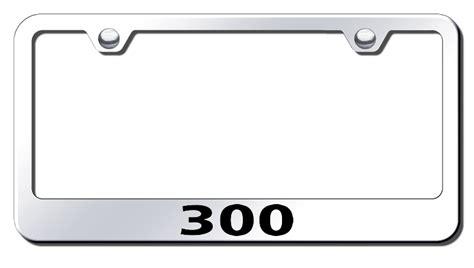 chrysler 300 license plate frame chrysler 300 laser etched stainless steel license plate