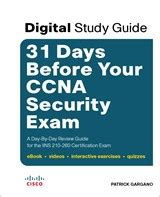 ccna security study guide 210 260 books 31 days before your ccna security digital study
