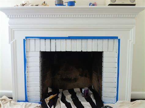 inside fireplace paint inside fireplace paint brick anew blog