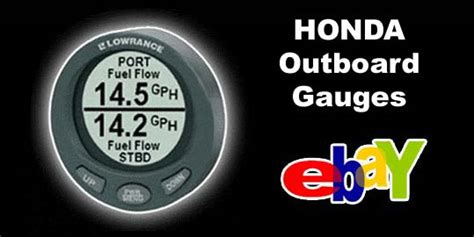 honda outboard fuel lowrance lmf 200 for sale honda outboard gauges nmea