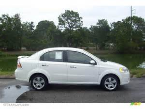 2009 summit white chevrolet aveo lt sedan 13679585
