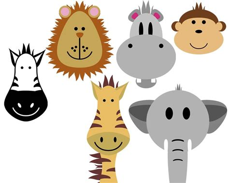 animal clipart safari animals clip 080912 187 vector clip free