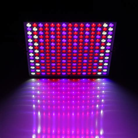 45w 225 Led Grow Light Full Spectrum Hydroponic Plants Veg