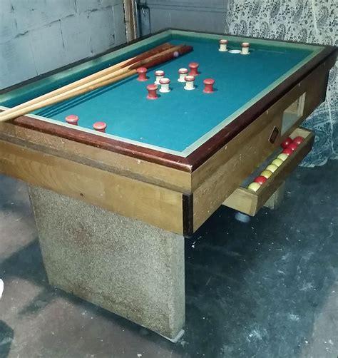 vintage bumper pool table  sale  chicago il