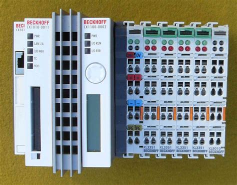 beckhoff programmable logic controllers plc and ipc by