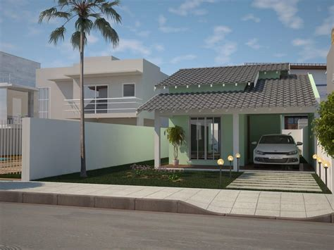 imagenes fachadas verdes 109 fachadas de casas simples e pequenas fotos lindas