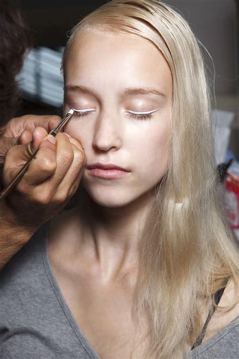 Eyeliner White how to wear white eyeliner stylecaster