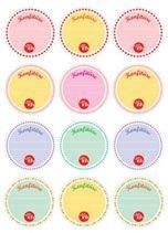 Etiketten Drucken Download Kostenlos by Konfit 252 Re Etiketten Zum Download Men 252 Und Tischkarten