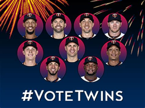Minnesota Sweepstakes - all star ballot offers vote now twinsbaseball com fan forum