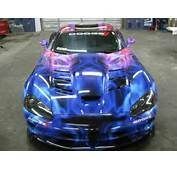 Custom Vehicle Wrap On A Dodge Viper In Dallas TX Wwwskinzwrapscom