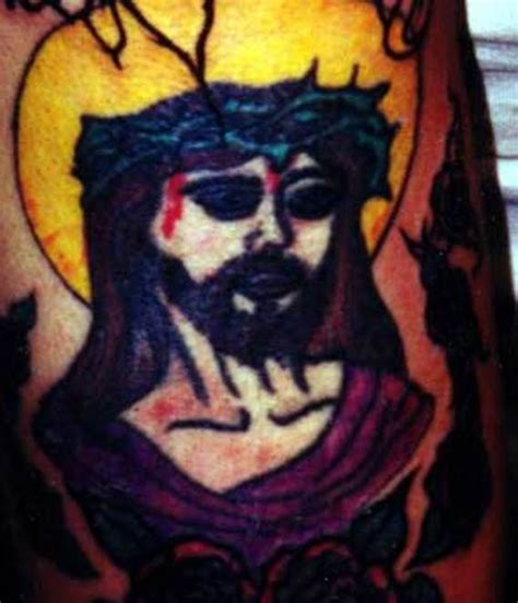 jesus tattoo gone wrong bad tattoos 15 more of worst of the funny team jimmy joe