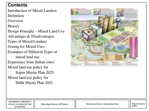 mixed layout definition assignment mixed land use
